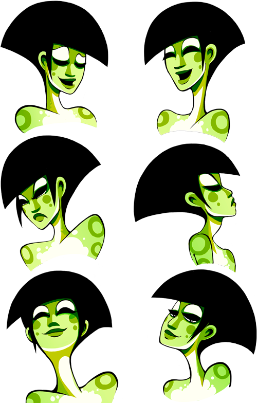 fairy_green_expressions