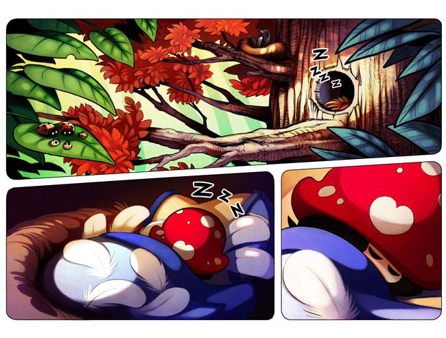 la-petite-chapardeuse-BD-cohabitation-page-01